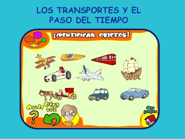 LOS TRANSPORTES Y EL  PASO DEL TIEMPO    LOS TRANSPORTE Y EL PASO DEL TIEMPO