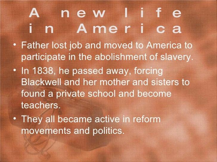 elizabeth blackwell life