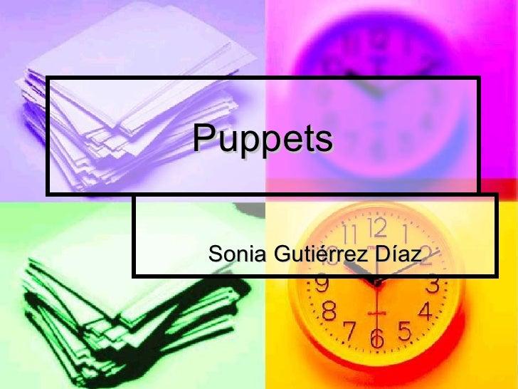 Puppets Sonia Gutiérrez Díaz