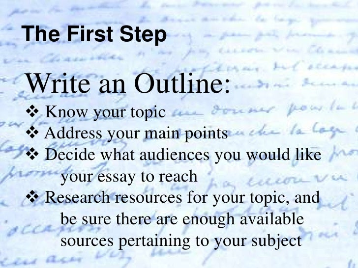 how to stay on topic when writing an essay