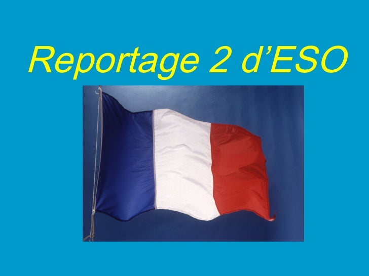 Reportage 2 d'ESO