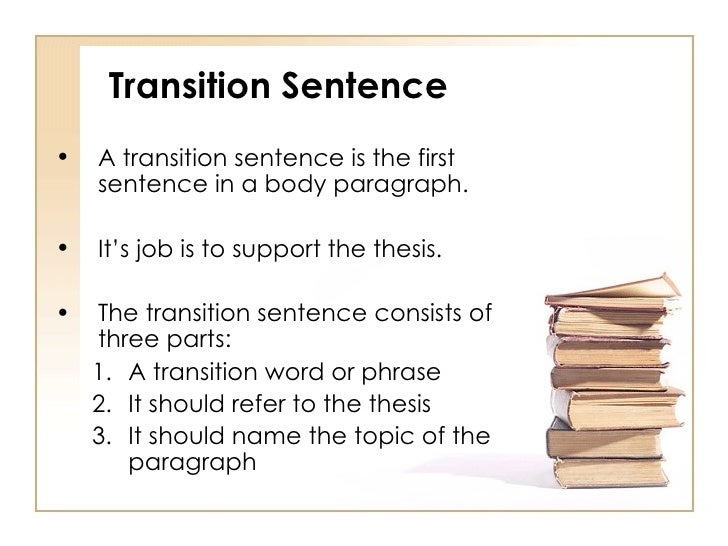 Body paragraph powerpoint