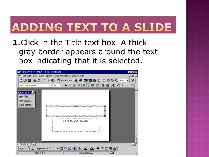 Power Point Slide 3