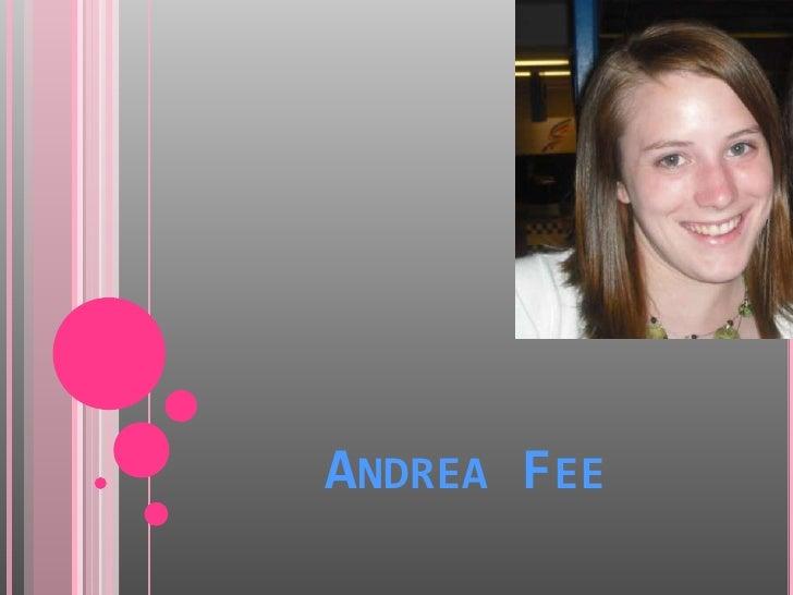 Andrea Fee<br />