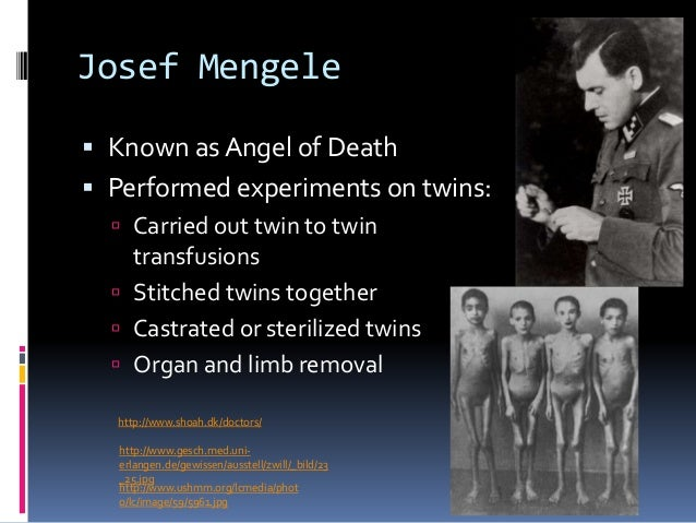 dr mengele experiments sex change in Manchester