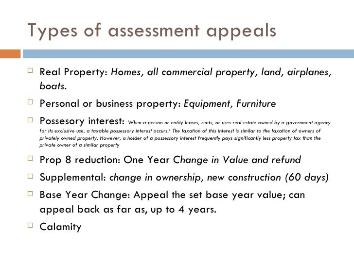 Writing A Property Tax Appeal Letter With Sample Use This Sample