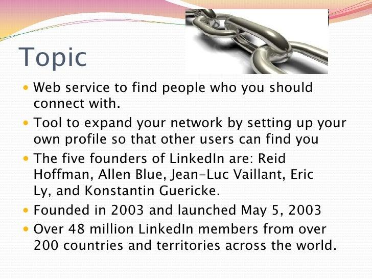 LinkedIn powerpoint Slide 3