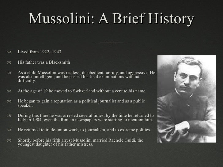 """doctrine of fascism Wwwmilestonedocumentscom study questions: benito mussolini's """"the doctrine of fascism"""" italy's leader and head of the fascist party, benito mussolini, had."""