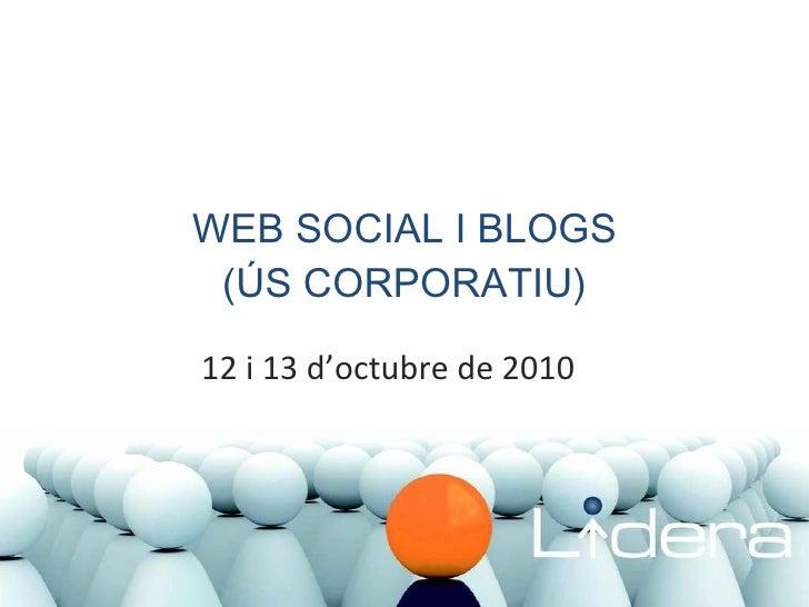 Formació CCIS. Xarxes socials i blocs corporatius (revisat)