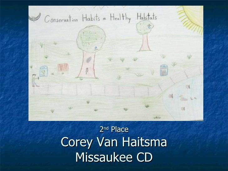 Conservation habits healthy habitats essay
