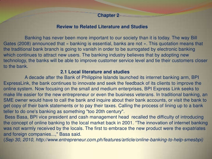 chapter 2review of related literature 29 chapter 2 literature review 21 introduction reviewing literature that is relevant to one's research is a critical step in the research, it is used in all the.