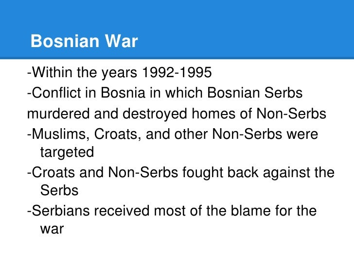 ethnic cleansing from a struggle of power in bosnia The communists were swept from power the struggle in yugoslavia new the 1993 pulitzer prize-winning dispatches on the ethnic cleansing of bosnia new.