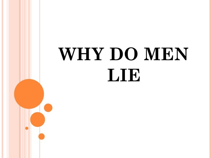 what to do when a guy lies to you