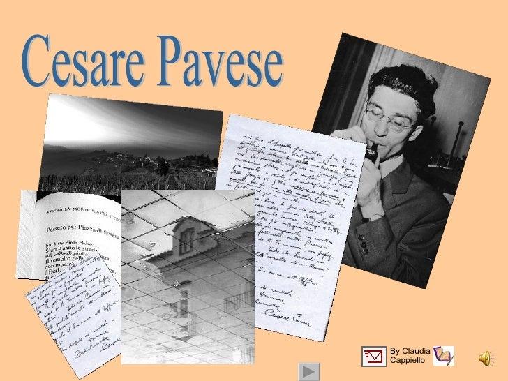 Cesare Pavese By Claudia  Cappiello
