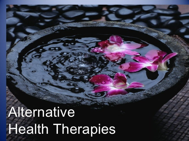 Alternative  Health Therapies