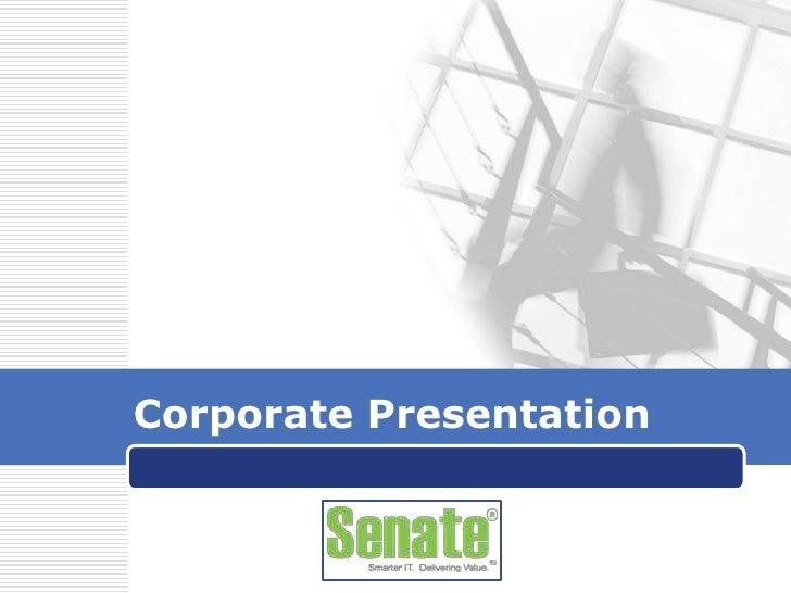 Corporate Presentation<br />