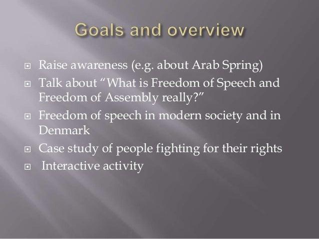 Freedom of Speech Slide 2