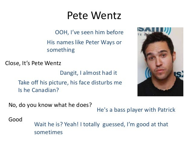 Pete wentz and mikey way dating 10