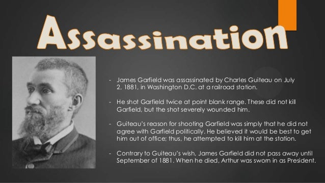 Image result for president james garfield assassinated