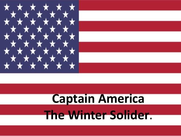 Captain America The Winter Solider.