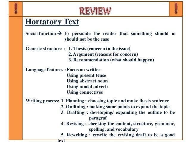 Ppt Bahasa Inggris Sma Kelas X Teks Hortatory