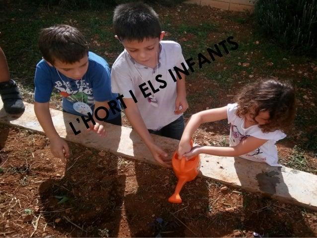 L'HORT I ELS INFANTS