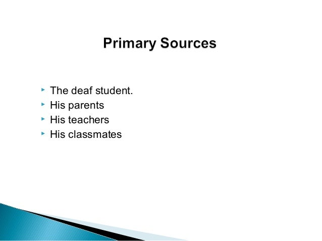 Case Studies in Deaf Education – Supporting Success For ...