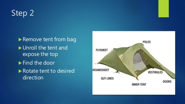 How to Set Up a Tent    Alone