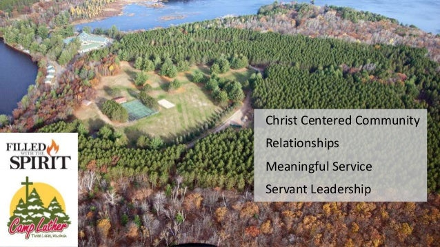 Christ Centered Community Relationships Meaningful Service Servant Leadership