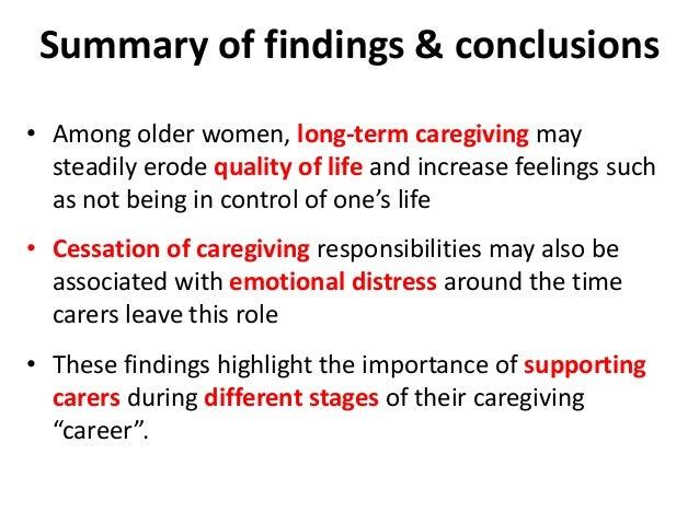 Emotional wellbeing of older caregivers: Findings from the ELSA study Contact information: Dr. Snorri Bjorn Rafnsson Depar...