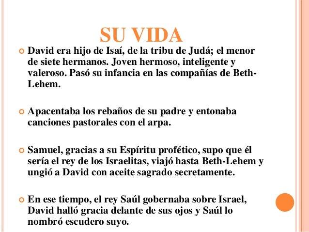 La Vida De David
