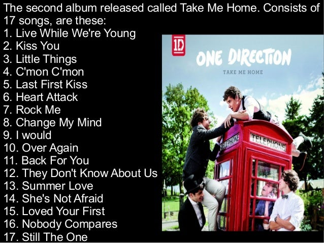One direction quotes from songs take me home