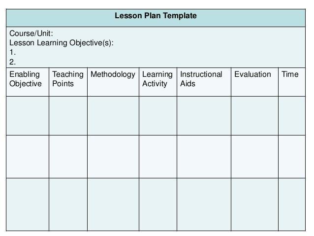 ... 33. Lesson Plan Template ...