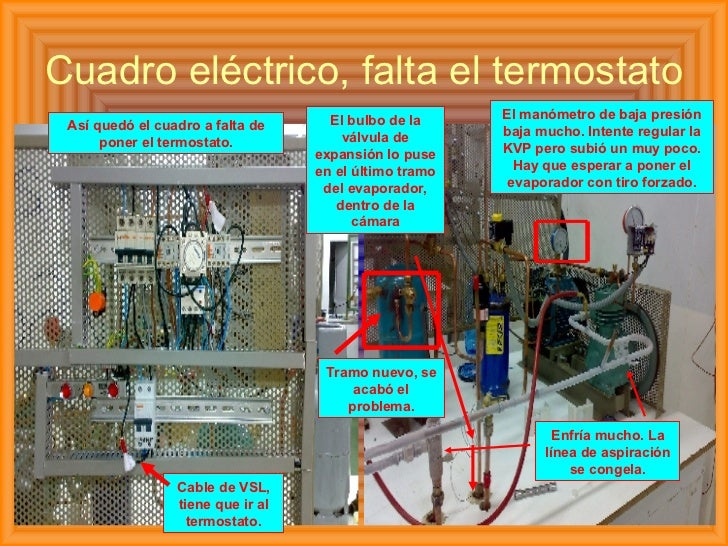 Curso de frigorista for Clases de termostatos