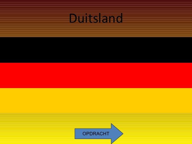 Duitsland OPDRACHT