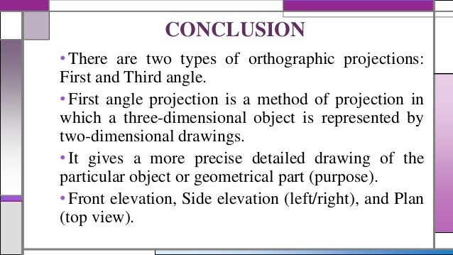 Angle Of Elevation Lesson Plan : Powerpoint first angle projection