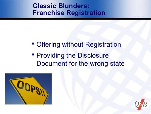 Rhode Island Franchise Registration Renewal