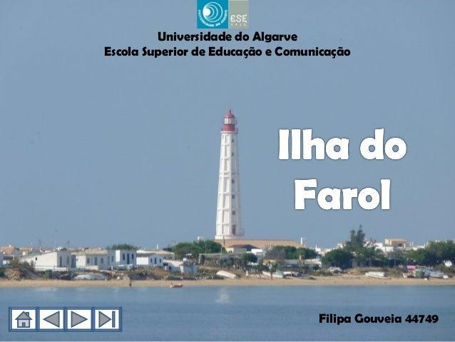 Universidade do AlgarveEscola Superior de Educação e Comunicação                                   Filipa Gouveia 44749