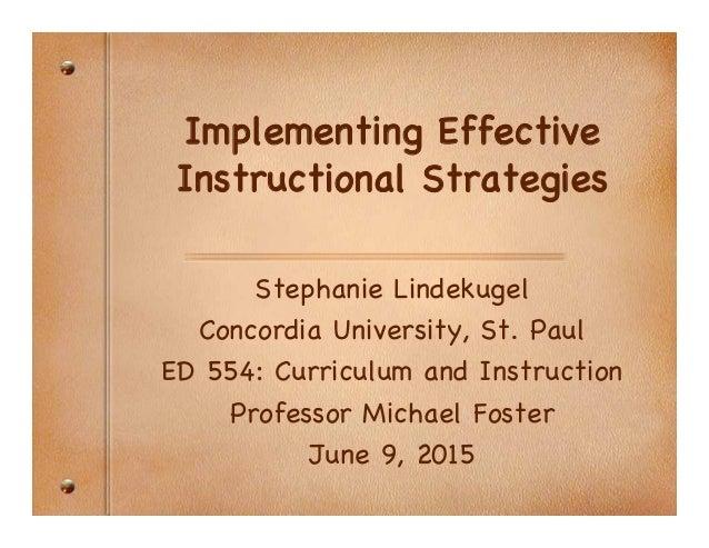 Powerpoint Instructional Strategiesppt