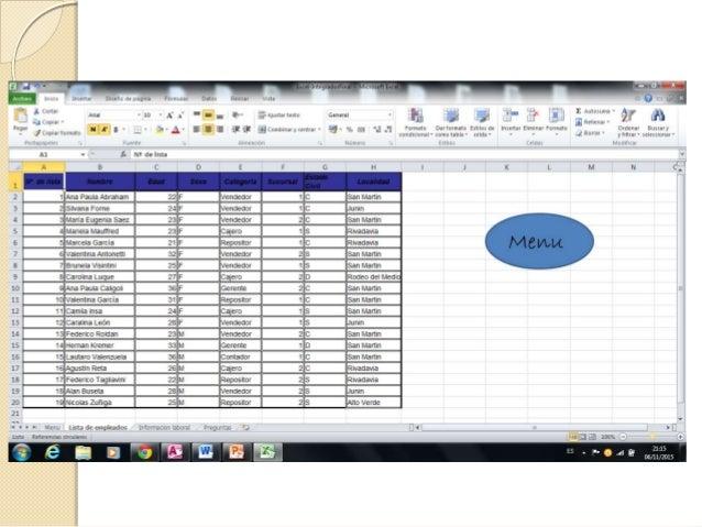 Access  La empresa utilizando la informacion suministrada por excel, decide ordenarla de forma util para su interpretacio...