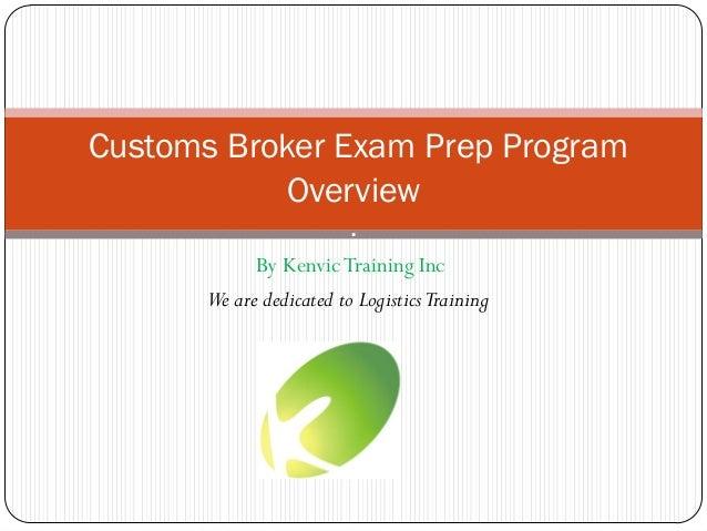 Customs Broker Training | Logistics Training Systems, Inc.