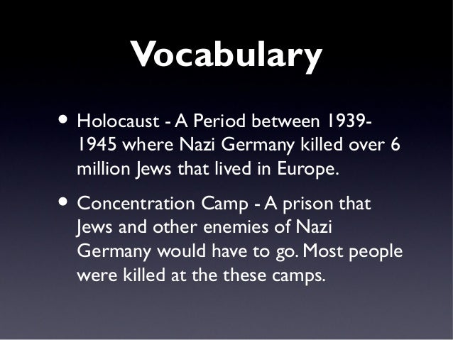 Power point lesson 16 - holocaust - great depression and world war …