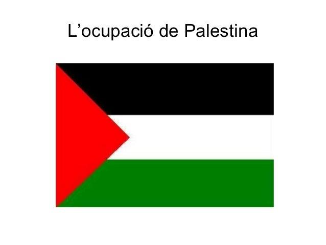 L'ocupació de Palestina