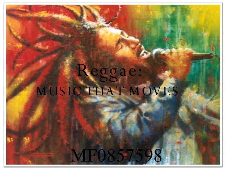 MF0857598 Reggae: MUSIC THAT MOVES