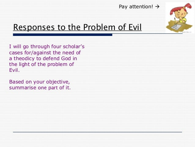 Problem Of Evil Essays (Examples)