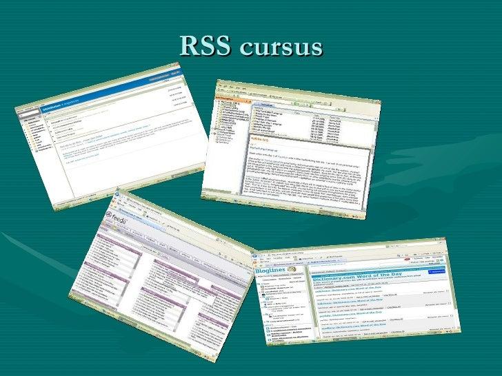 RSS cursus