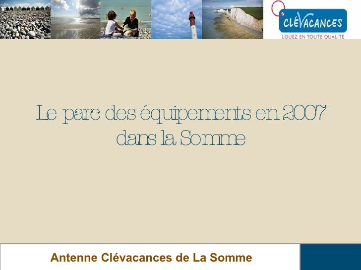 Réunion Clévacances 15 Mai 2008 Slide 2
