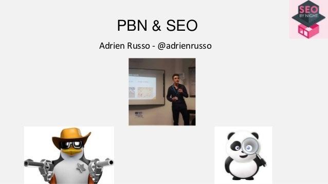 PBN & SEO Adrien Russo - @adrienrusso