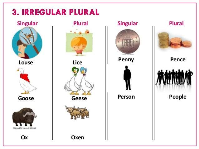 NB1 - Singular and plural