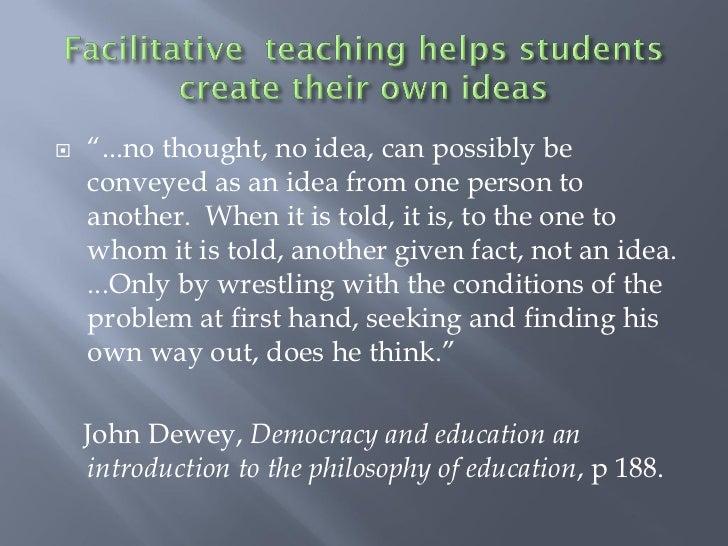 john dewey democracy and education summary pdf